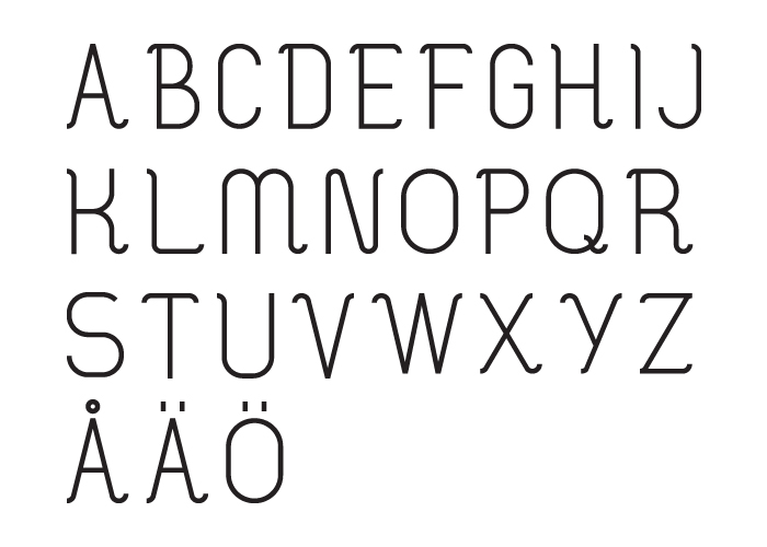 Modernwave letters