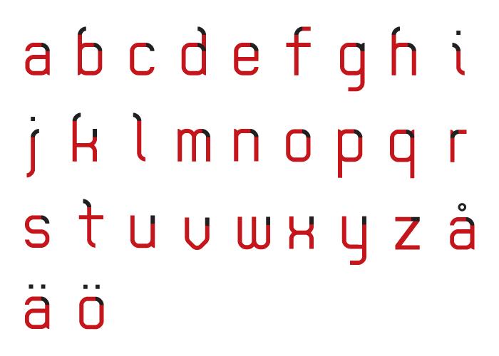 REDBLOCK letters