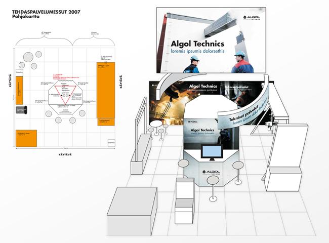 Algol Technics – logistiikka- ja kuljetusmessut 2006-2007