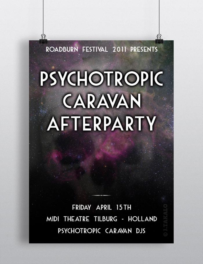 Psychotropic Caravan afterparty at Roadburn festival 2011