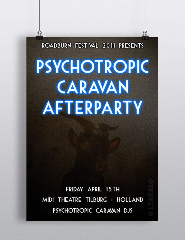 Psychotropic Caravan afterparty at Roadburn festival 2011