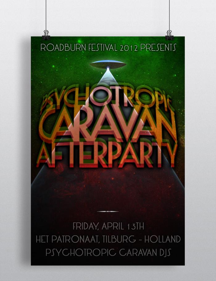 Psychotropic Caravan Afterparty at Roadburn festival 2012