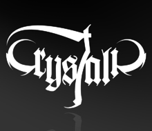 Crystalic logo & CD layout 2006
