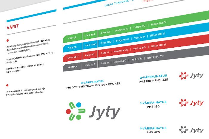 Jyty ry – graafinen ohjeisto 2010