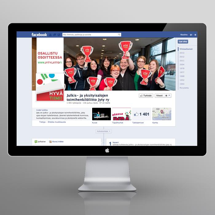 Jyty – Hyvä tiimi! -campaign