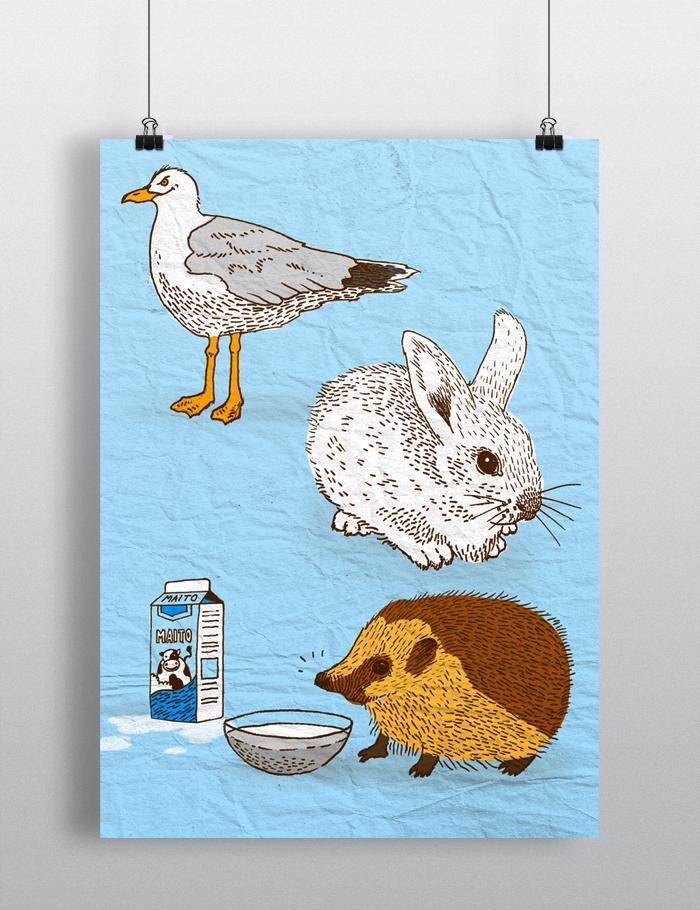 Kotipihan linnut ja nisäkkäät -eläinsuojeluluento 2013