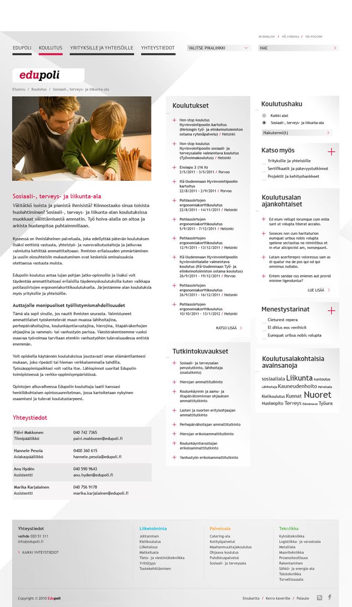 Edupoli website 2012