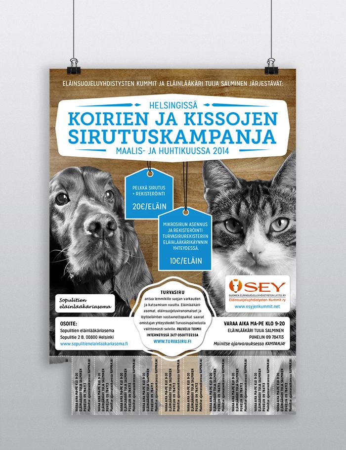 Koirien Ja Kissojen Sirutuskampanja 2014