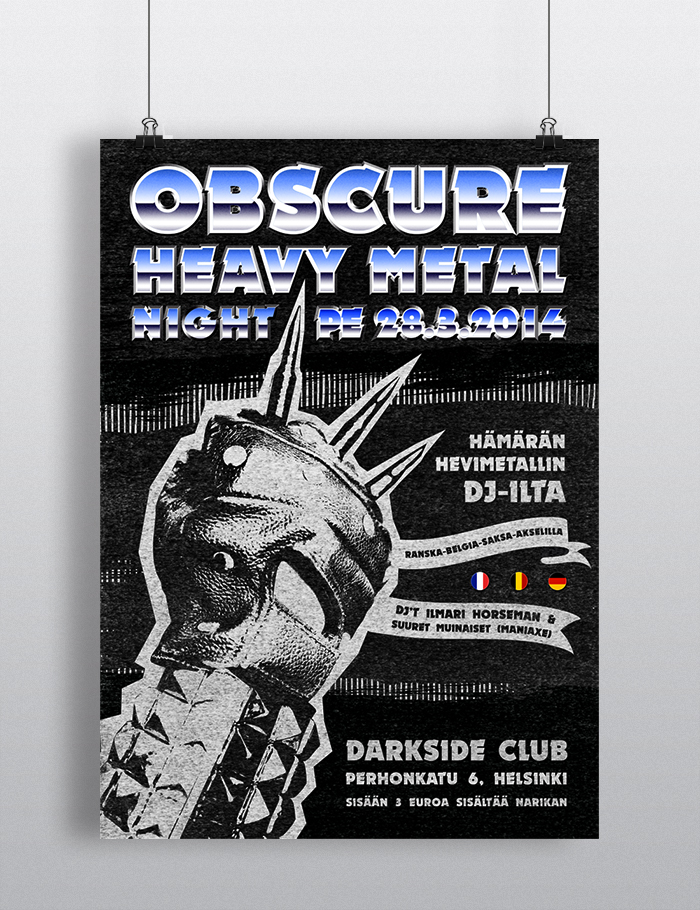 Obscure Heavy Metal Night 2014